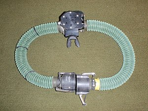 Halcyon PVR-BASC - Image: PVR BASC BOV and breathing hoses P5167681