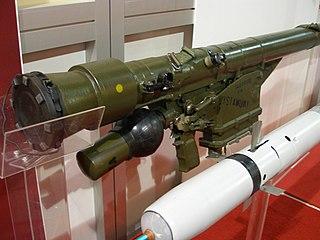 Grom (missile) Man-Portable SAM