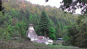 Binsar Devta - First Glimpse of the temple