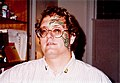 Painted face New Orleans 1990.jpg