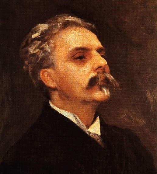 Painting of Gabriel Fauré