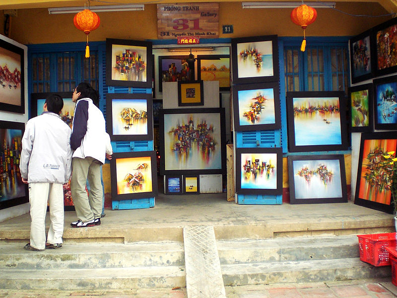 File:Painting shop in Hoi An.jpg