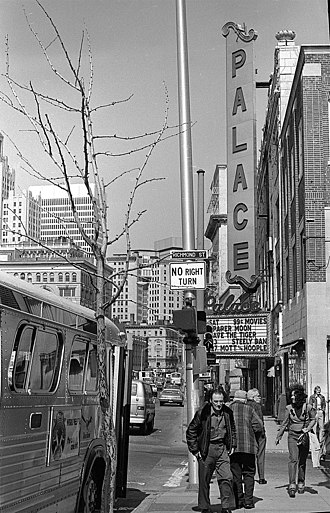 Providence Performing Arts Center - Image: Palace Theatre Providence 1975