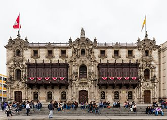 Roman Catholic Archdiocese of Lima - The Archbishop's Palace of Lima is the seat of the Archdiocese of Lima