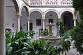 Palacio de los Marqueses de Casablanca (Granada). Patio.jpg