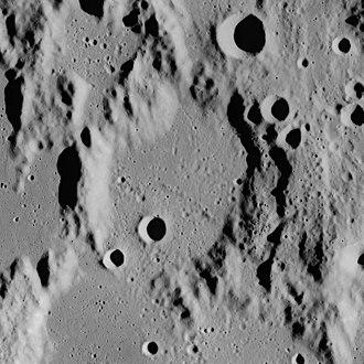 Palisa (crater) - Image: Palisa crater AS16 M 1678
