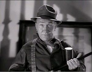 William Demarest - Demarest in a screenshot of The Palm Beach Story trailer in 1942