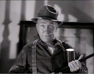 William Demarest - Demarest in a screenshot of The Palm Beach Story trailer in 1942