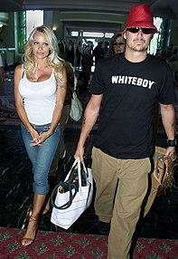 Pamela Anderson e l'ex-marito Kid Rock nel 2003