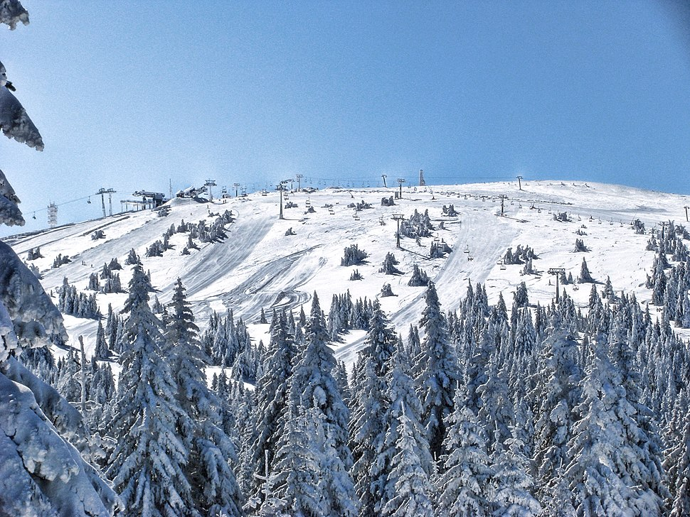 Pančićev vrh during winter