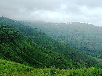 Panchgani - View of Panchgani Hills