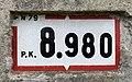 Panonceau PK 8,980 Route N79 Route Mâcon St Cyr Menthon 1.jpg