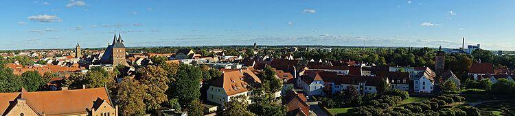Panorama of the city of Delitzsch (2016) .jpg