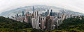 Panorama of Hong Kong Central from Victoria Peak (6847602608).jpg