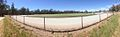 Panoramic view of the Nyah Recreation Reserve Oval from the Northern End (2016).jpg