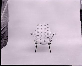 Marco Zanuso - Armchair Martingala (Arflex). Photo by Paolo Monti, 1975.
