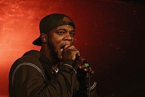 Papoose (rapper) - Papoose performing, 2013.