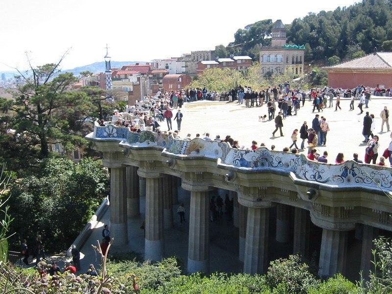 Balcón no parc Güell