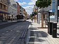 Pardubice, třída Míru, U Grandu, trolejbus.jpg
