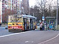 Pardubice, zastávka Lidická, trolejbus.jpg