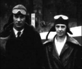 """Parents """"Al"""" Johnson and wife Loraine, 1924 (collection of Walter E Lees).png"""