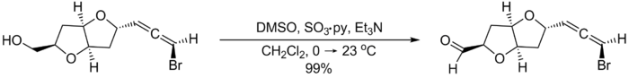 The Parikh–Doering oxidation.