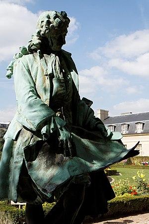 Ernest Henri Dubois - Image: Paris Les invalides Statue de Jules Hardouin Mansart 003