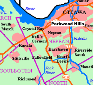 Parkwood Hills - Image: Parkwood Hills in Nepean