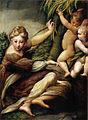 Parmigianino, Santa con due angeli.jpg