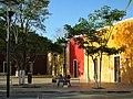 Parque en el Barrio de Sisal, Valladolid, Yucatán. - panoramio.jpg