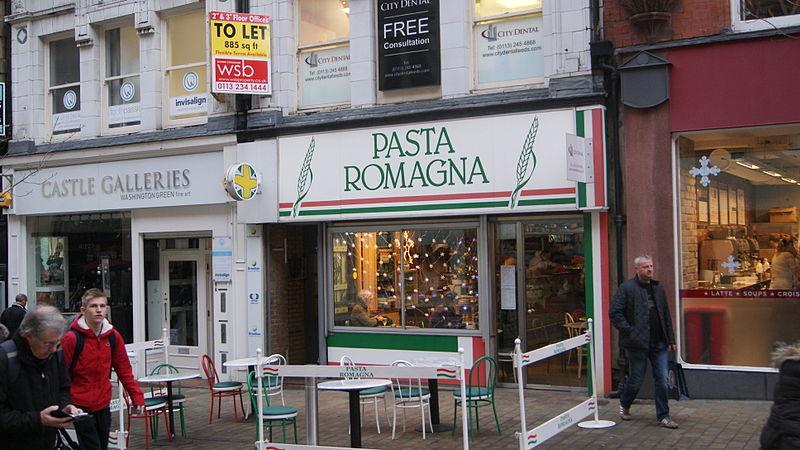 File pasta romana albion place leeds 17th december 2012 for Pasta romana