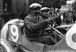 Paul Bablot at the 1914 French Grand Prix.jpg