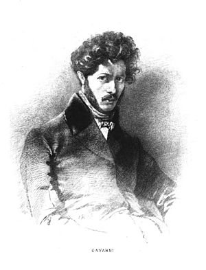 Paul Gavarni - Gavarni by Émile Boilvin, from a self-portrait
