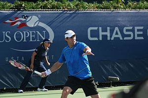 Paul Hanley (tennis) - Image: Paul Hanley at the 2010 US Open 01