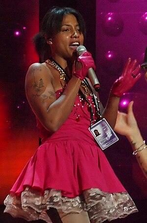 Pauline Kamusewu - Pauline performing at Melodifestivalen 2010