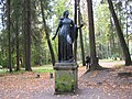 "Pavlovsk Park. Twelve tracks. The outer circle. Statue ""Niobida""..JPG"
