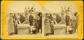Pawnee Indians receiving their Gov't annuity, from Robert N. Dennis collection of stereoscopic views.png
