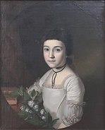 Peale, Charles Wilson - Henrietta Maria Bordley, 1773, age 10