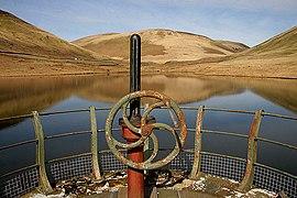 Peden Reservoir from the overflow tower - geograph.org.uk - 1803735.jpg