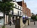 Pedestrainised shopping centre, Staines - geograph.org.uk - 1891888.jpg