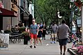 Pedestrians near Caroline Street, Saratoga Springs, New York.jpg