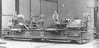 Bramah Joseph Diplock - Prototype Pedrail troop transport developed as an offshoot of the Landship Committee.