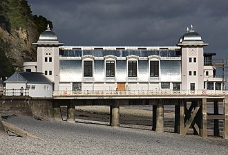 Penarth - Refurbished pier pavilion (2013)