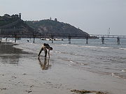 Penglai, Shandong, China, harbour, beach IMG 2111.jpg
