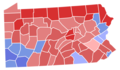 Pennsylvania Senate Election Results by County, 1952.png