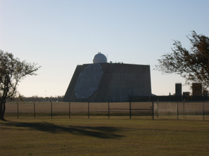 Cavalier Air Force Station - Image: Perimeter Acquisition Radar Characterization System