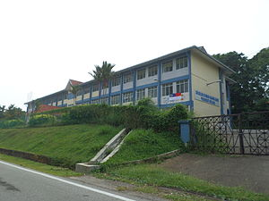 Education in Malaysia - Peringgit Primary School in Malacca.