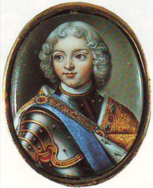 Peter II by A.G.Ovsov (?) (1720s, Hermitage).jpg