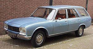 Guangzhou Peugeot Automobile Company - Image: Peugeot 504 Break 1978