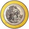 Philhellenic plate by Creil Montereau. Les turks Envenant les Femmes et Les Enfans Grecs.jpg